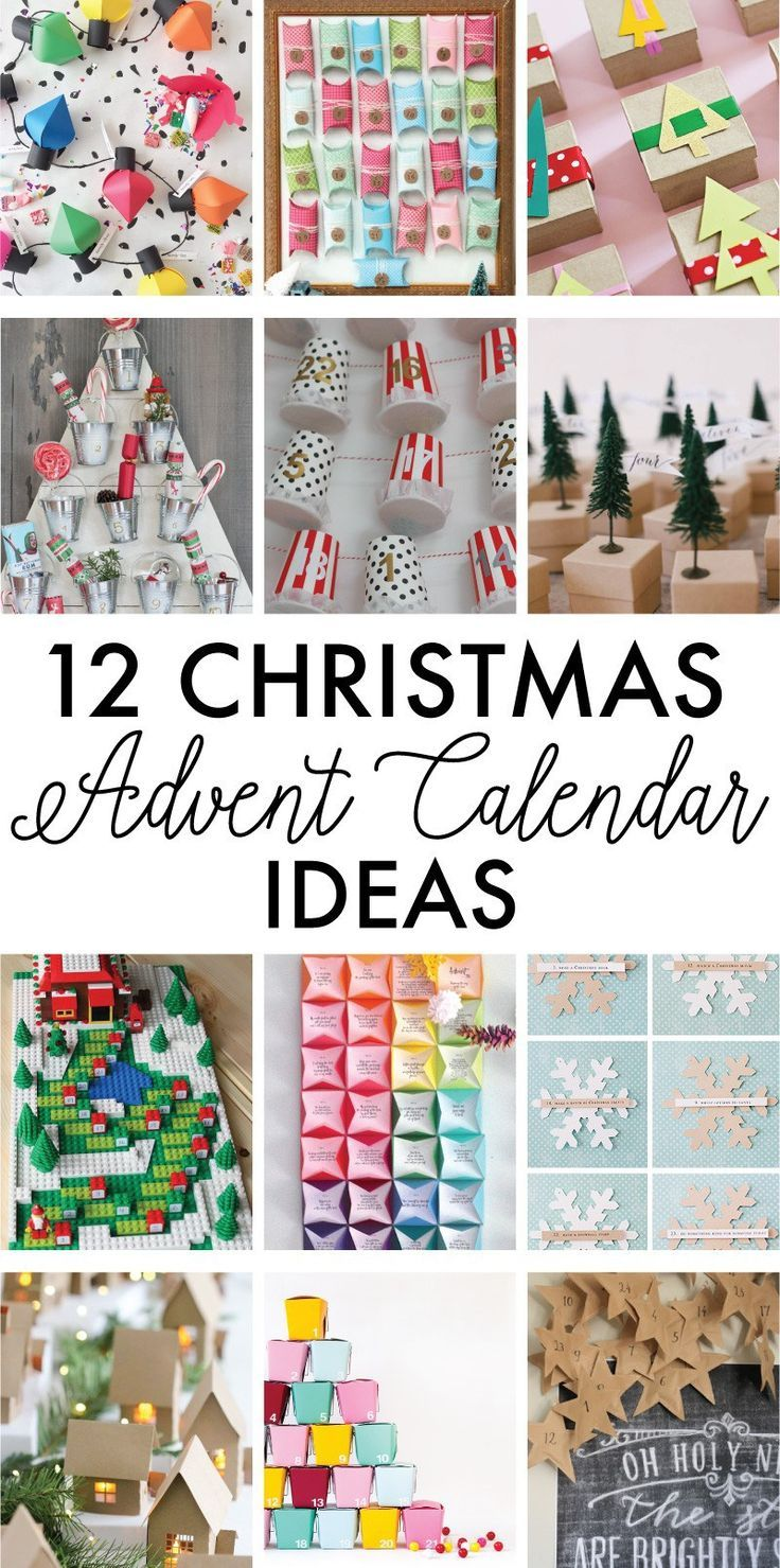 Love Calendar Ideas : Best christmas advent calendars ideas on pinterest