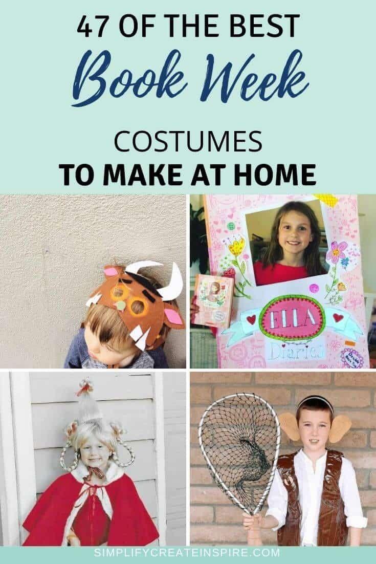 49 Simple Book Week Costume Ideas For 2020 Book Week Costume Easy Book Week Costumes Story Book Costumes