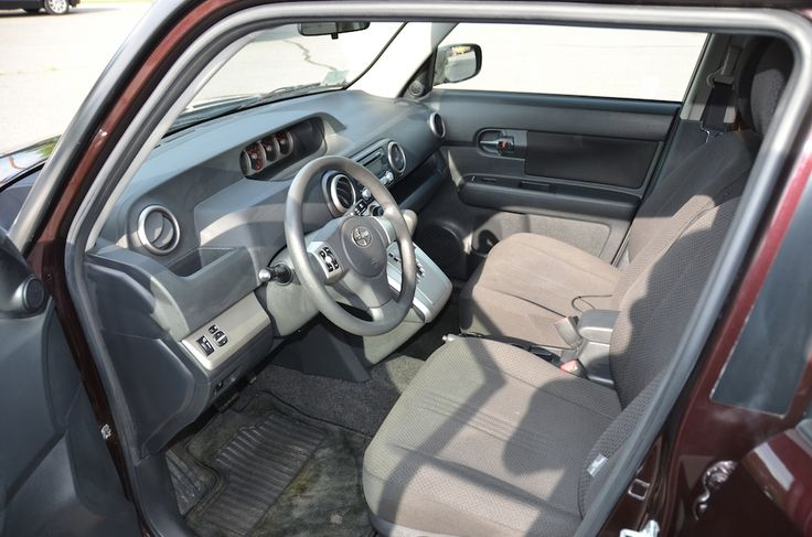 Interior Front -Driver Side- view of the 2009 Toyota Scion XB For Sale