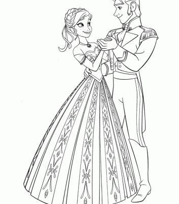 87 best Disney Frozen Coloring Pages Disney images on Pinterest