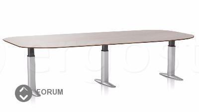 Стол ErgoStol Forum для переговорных с изменяющейся высотой
