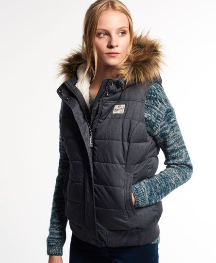 Marl Superdry Puffle vest