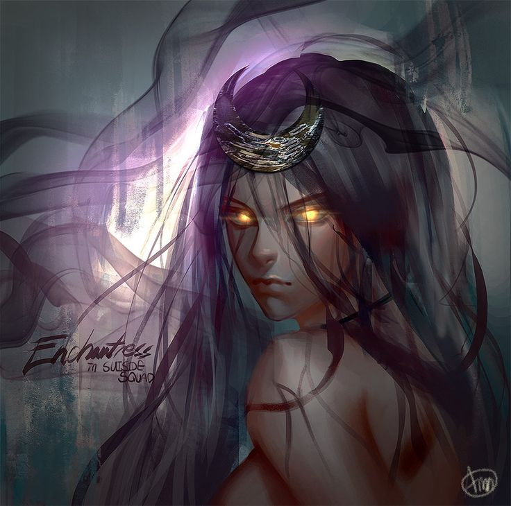 suiside squad enchantress by Finchangelim
