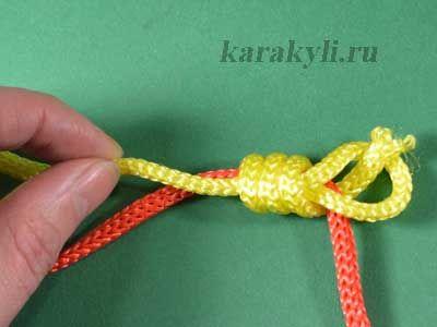 Скользящий узел для украшений. | КАРАКУЛИ