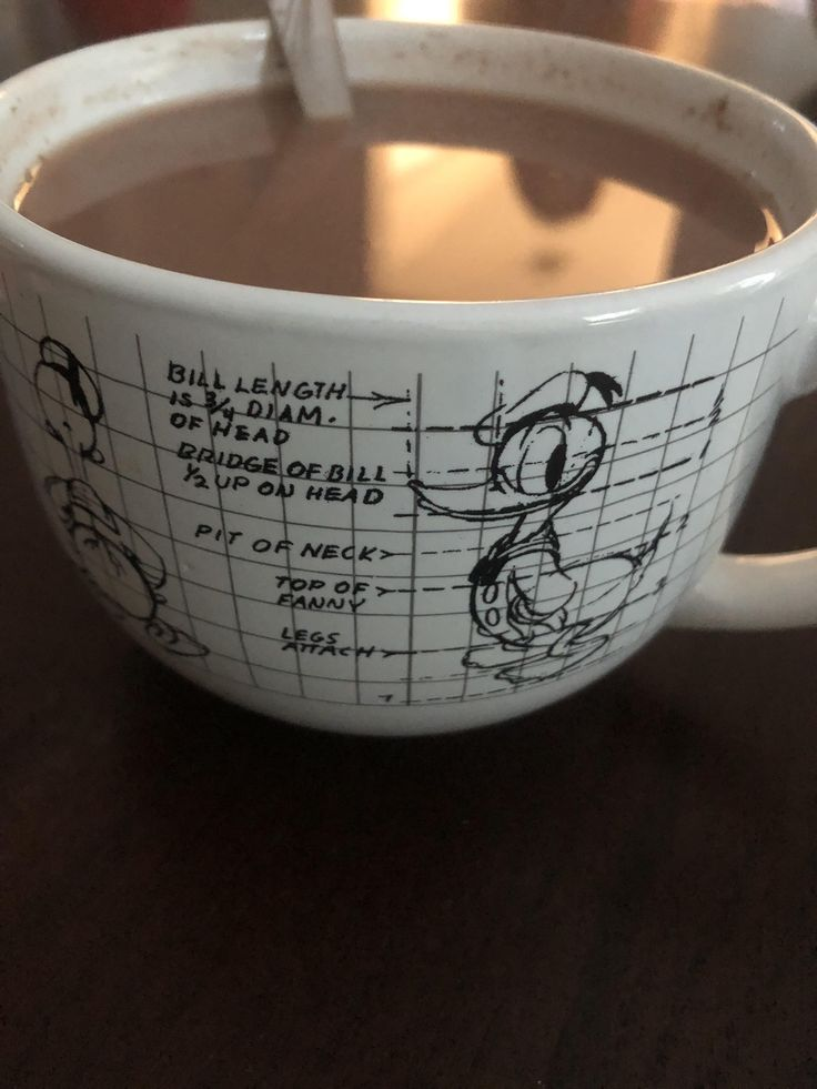 My friends grandmother has a mug that shows the design