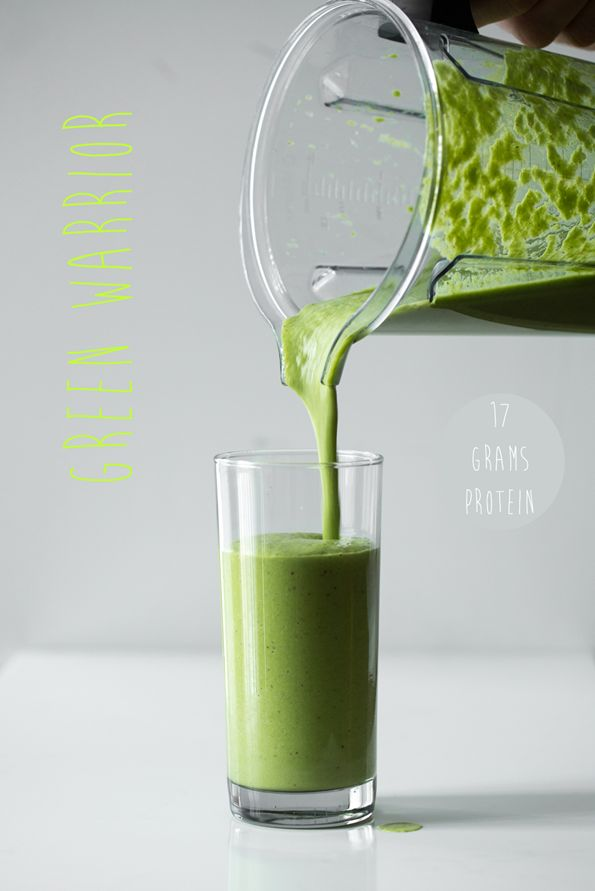 Green Warrior Protein Smoothie #vitamix FREE GROUND SHIPPING at vitamix.com with code 06-006499 on ANY purchase