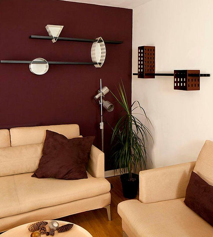25+ best Burgundy room ideas on Pinterest Burgundy bedroom - red and brown living room