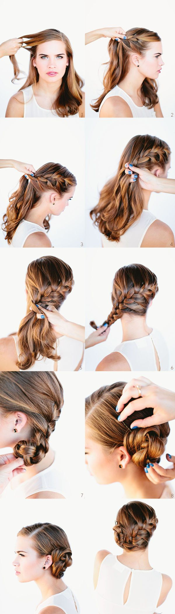 idée coiffure mariage