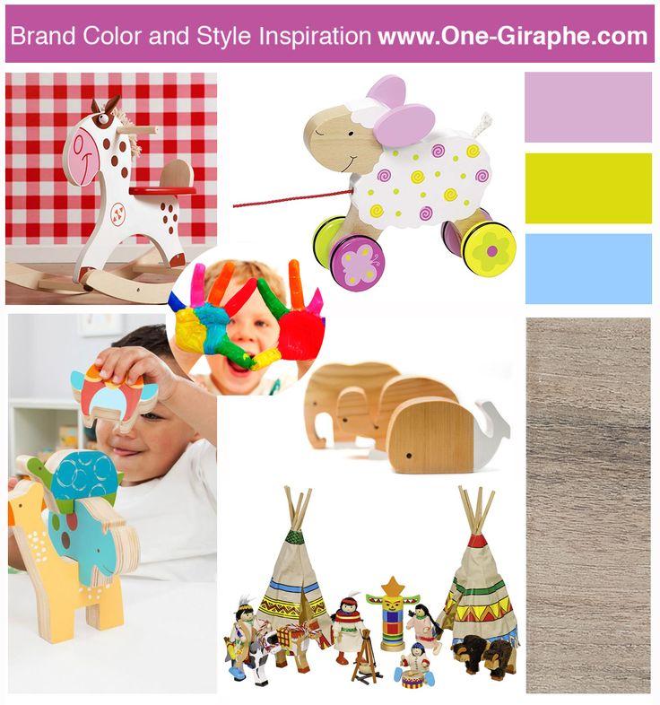 New Mood Board for kids #moodboard #baby #kids #inspiration #brand #logo #brandidentity #logodesign
