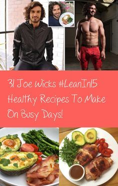 Joe Wicks aka TheBodyCoach has taken the fitness world by storm with his #Leanin15 meals and cookbook. Joe runs a successful business helping people transform their lives with his 90 day fitness plan and his #Leanin15 video recipe series that show how to