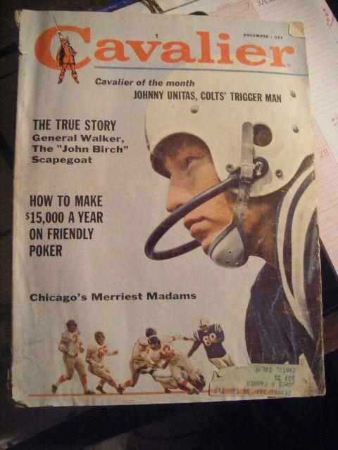 Cavalier Mens IMagazine December 1971, Vol 2 No. 22