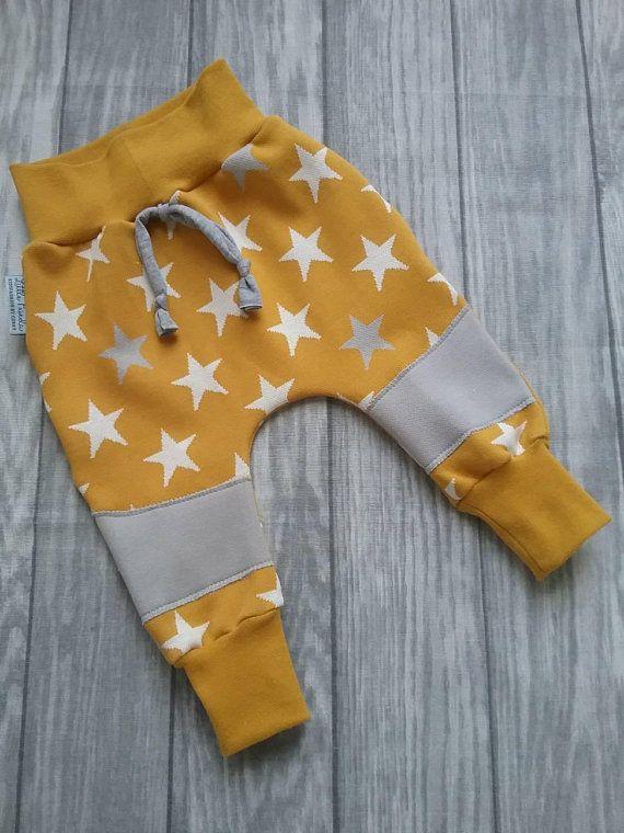 Pumphose Baby Boys Pants Kids Stars Mustard – Little Frieda – Kidsfashion by Conny