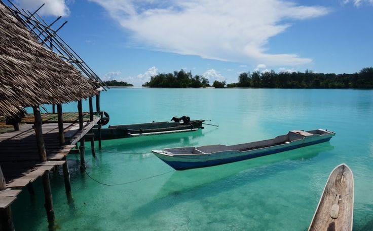 Pulau Widi Kepingan Surga di Maluku Utara - Maluku Utara