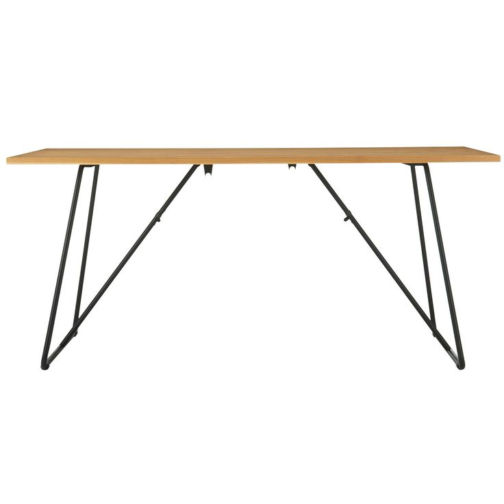 折りたたみテーブル・幅160cm・オーク材