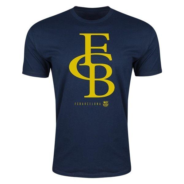 FC Barcelona Supersoft T-Shirt (Navy)