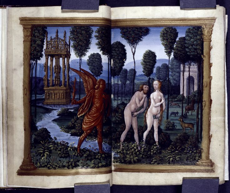 Horae. DATES / ORIGIN Date Created: 1500 LIBRARY LOCATIONS Spencer Collection Shelf locator: Spencer Collection Ms. 006 TOPICS Adam (Biblica...