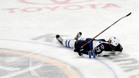 Patrik Laine injured Jets blow 2-goal lead against Sabres