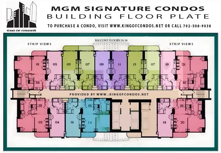 mgm grand signature | To View the Signature at MGM Grand Floor Plate - Click Here