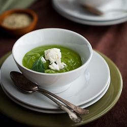 broccoli spinach soup | low carb | Pinterest
