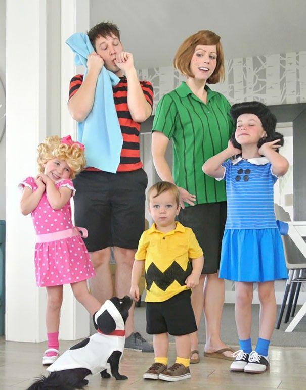 15 famílias que tiveram as melhores fantasias de Halloween