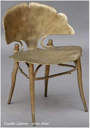 Claude Lalanne - Ginko chair