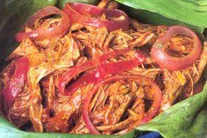 Receta de Cochinita pibil facil en olla express