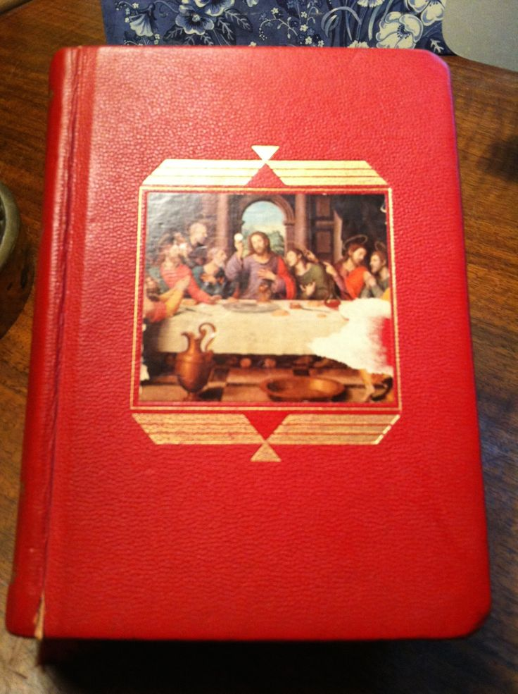 Vintage 1950s Red Catholic Missal, Religious Mass Book with Gold Gilded Edges Hardcover by LakeCottageVintage on Etsy