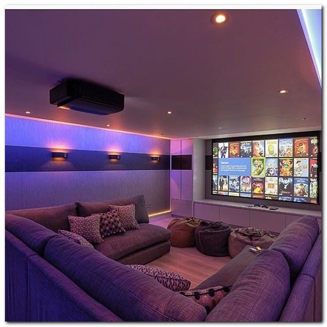 Home Theater Design And Ideas: 50+ Tiny Movie Room Decor Ideas