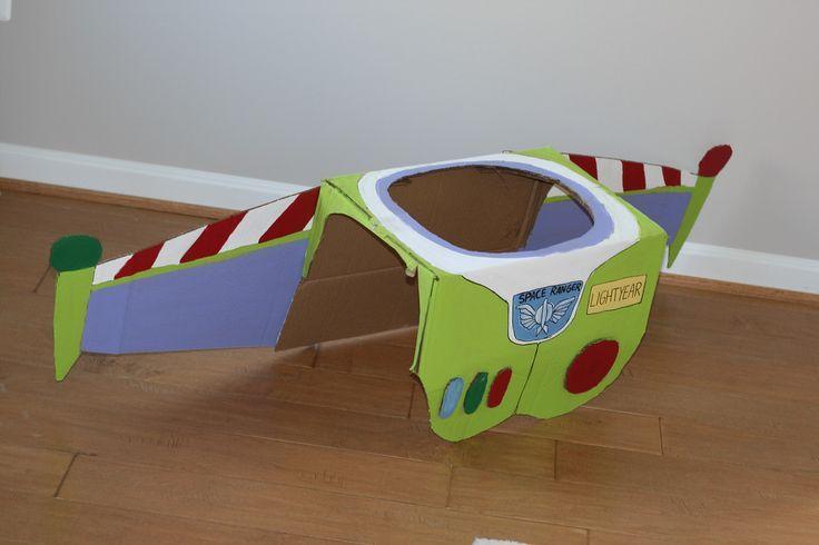toy story buzz lightyear diy costume cardboard - Google Search