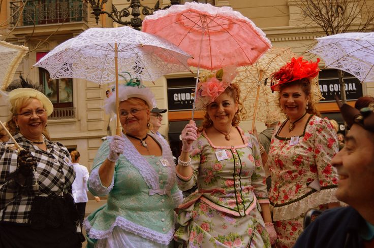 Annual Hat Parade in Barcelona: It takes place on the first Sunday in April