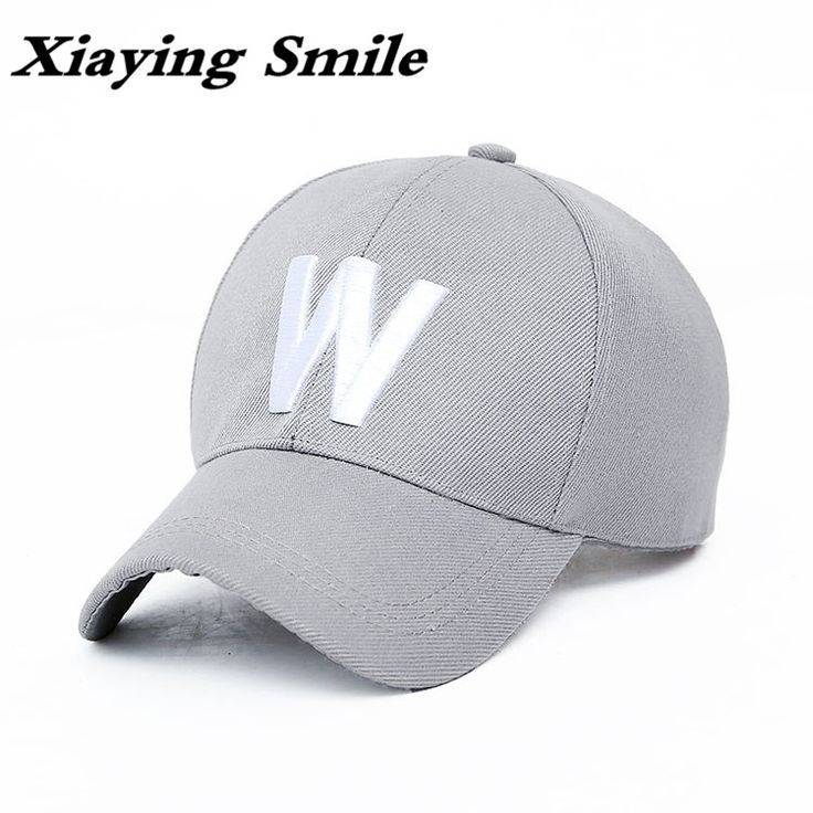 Xiaying Smile Snapback Adjustable Man Woman's Baseball Cap Hip Hop Hat Casual Snap Back Fashion Letter W Embroidery Peaked Cap
