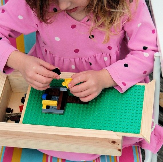 lego travel box $22.50 - I am positive i could make this for under $10 - maybe under 5 if i find legos at salvation army... they sell that wooden box at hobby lobby...