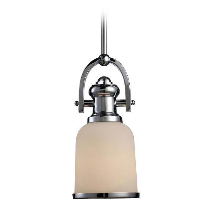 Elk Lighting Brooksdale Polished Chrome LED Mini Pendant