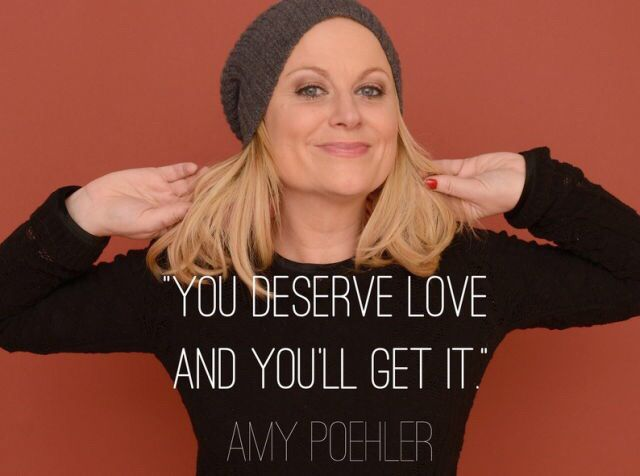 Amy Poehler is a serious goddess.