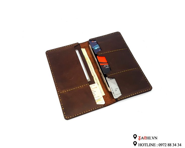 VN04SN - Ví nam mẫu dài handmade da thật cao cấp – Zachi Handmade Leather