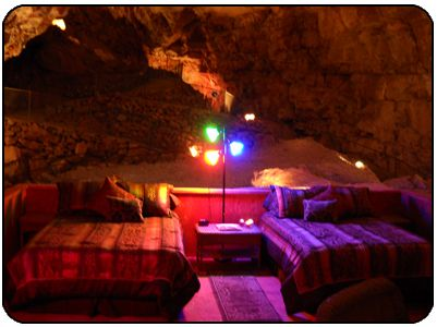 Grand Canyon Caverns - Cavern Suite 200 feet below the ground, only $700 per night.