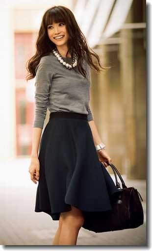 ミモレ丈スカートの冬コーデ!着こなしにおすすめのアイテムは?