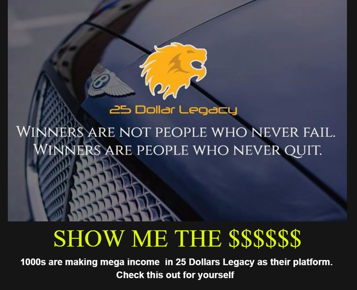 1000s are making Mega Income in 25 Dollar Legacy    #business #makemoney #internet # 25 Dollar Legacy  http://wu.to/QvPTbb