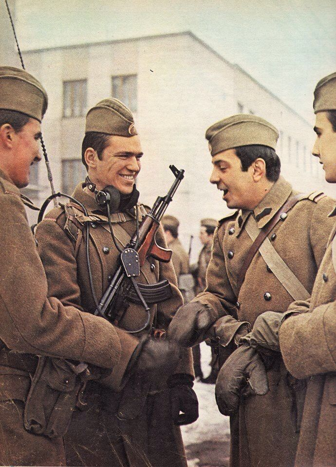 Soldiers of the Socialist Romania