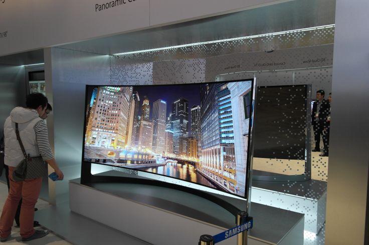 Panoramic Curved UHD TV