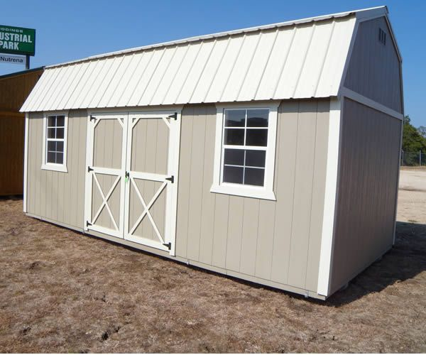 Derksen Portable Painted Side Entry Utility / Storage