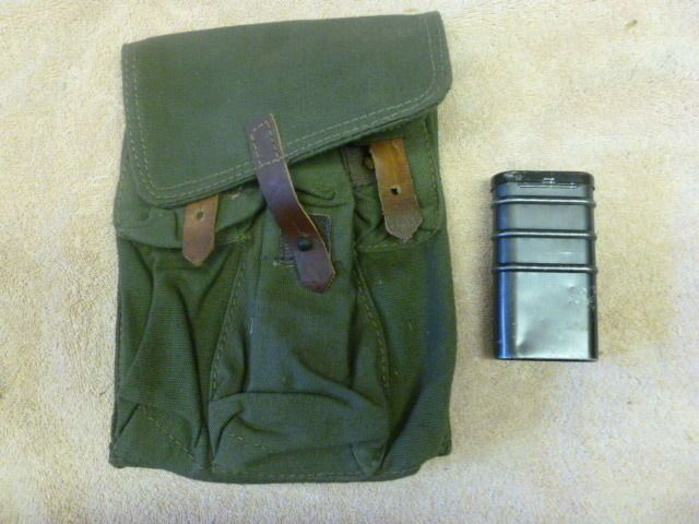 7.62x39 30 round magazine pouch with orginal complete cleaning new