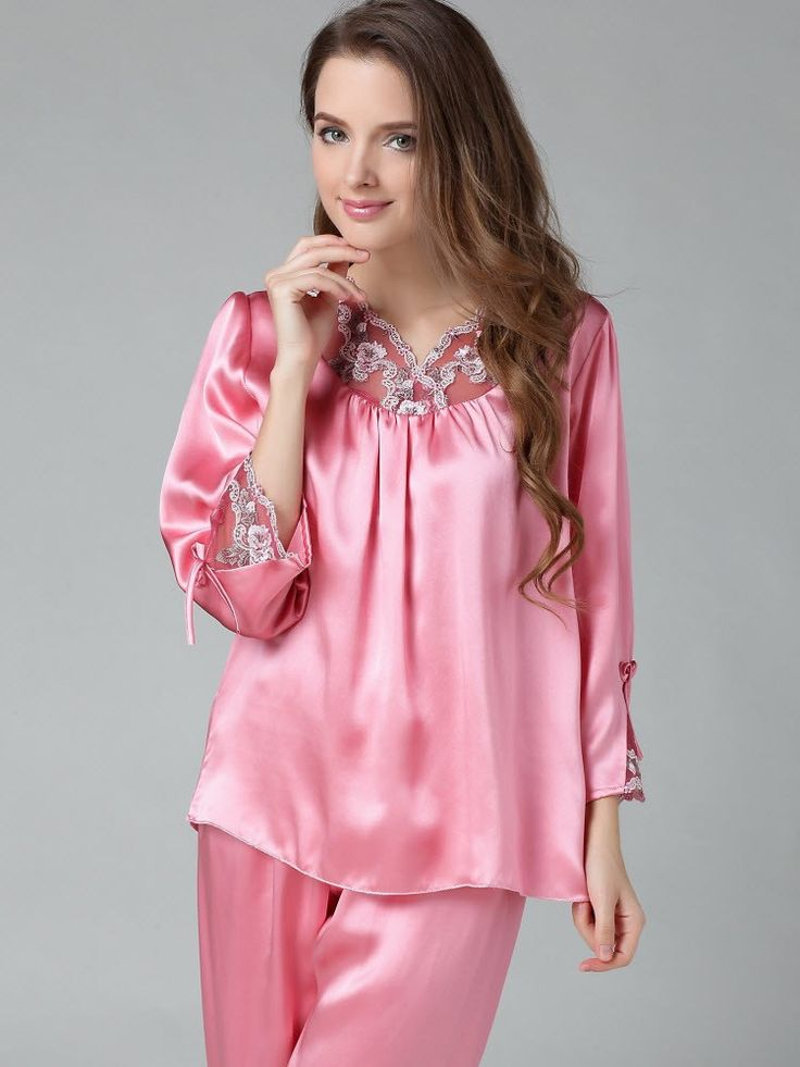 Made with luxurious satin, silk, and lovely lace details, feel like royalty in the latest styles of pajamas and sleepwear from Spicy Lingerie's extensive collection. Shop Spicy Lingerie today and enter a world of luxury when you slip into one of our sumptuous and lush pajamas.
