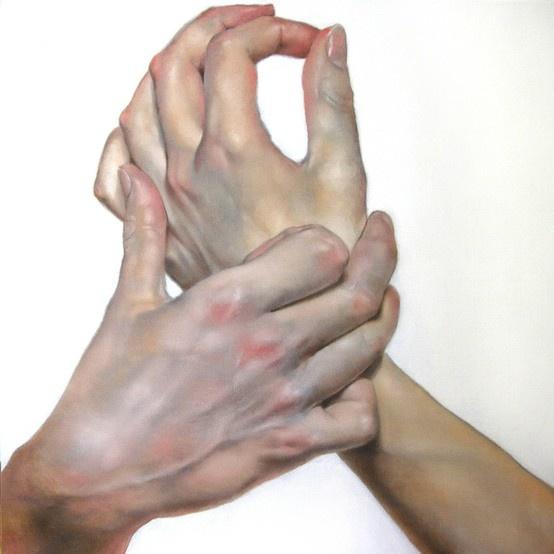 'Large Hands #1' © by Daniel Maidman