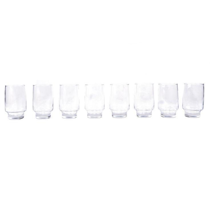 Conjunto de Copos Accent 8 peças Long Drink - Cisper - Havan