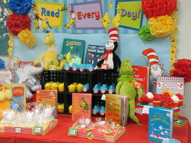 """Photo 25 of 25: Dr Seuss / Teacher appreciation """"Oh me oh my, look how fast this years gone by!Teacher Appreciation week""""   Catch My Party"""