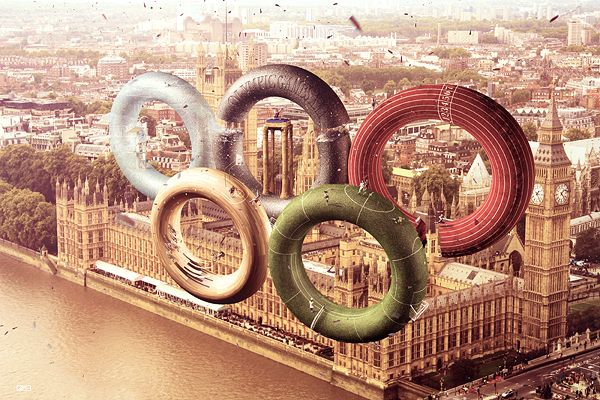 2012 Olympics Unofficial Visual Design