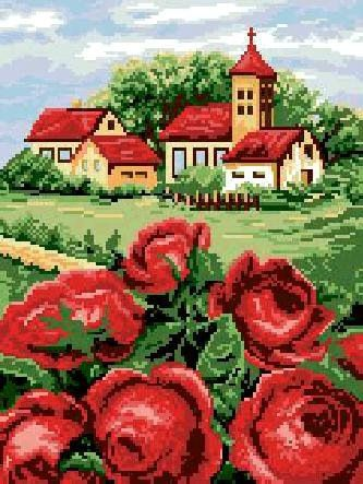 Gallery.ru / Фото #6 - маки и розы у дома - irisha-ira