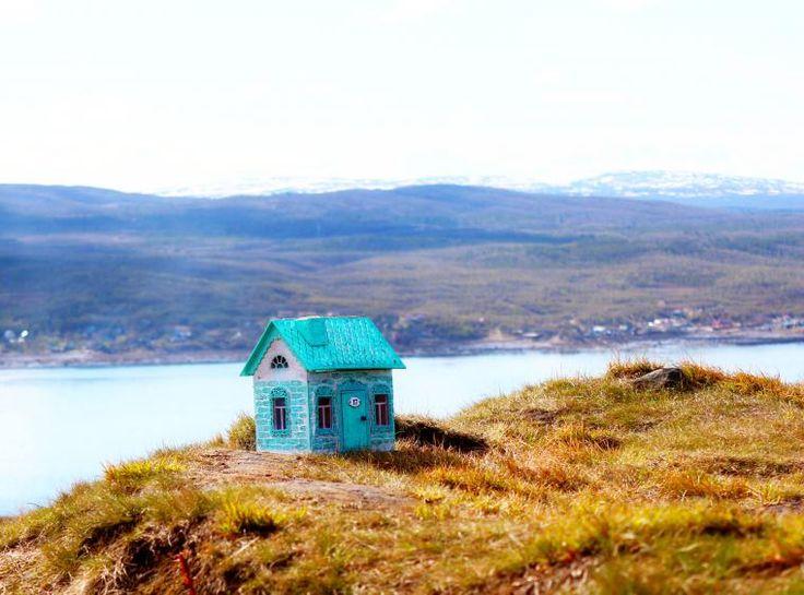 Домик на берегу северного моря - Ярмарка Мастеров - ручная работа, handmade