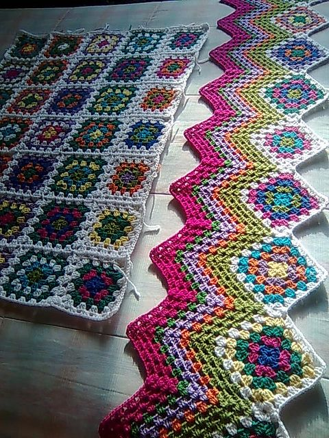 I made a baby blanket for my first-born (1987) with this zigzag pattern. Turned out gorgeous! Still have it to pass down to grandkids.